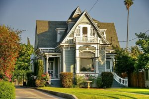 a victorian style home