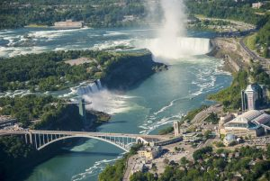 A view of Niagara Falls.