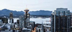 The cityscape of Vancouver which is one of the best cities to move to in Canada.