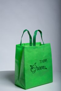 An eco-friendly shopping bag.
