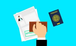 Getting a visa for a family relocation from Ontario to Jeddah.
