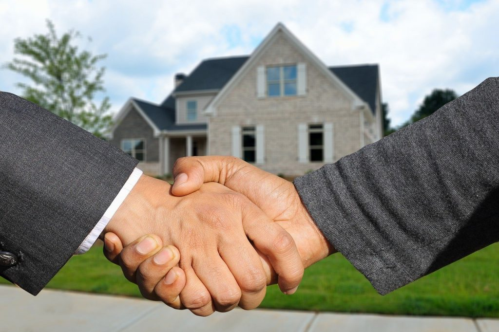 Shake hands and ask your agent when selling your house about the process.