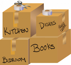 Moving Boxes - How to pack household goods for a long distance relocation