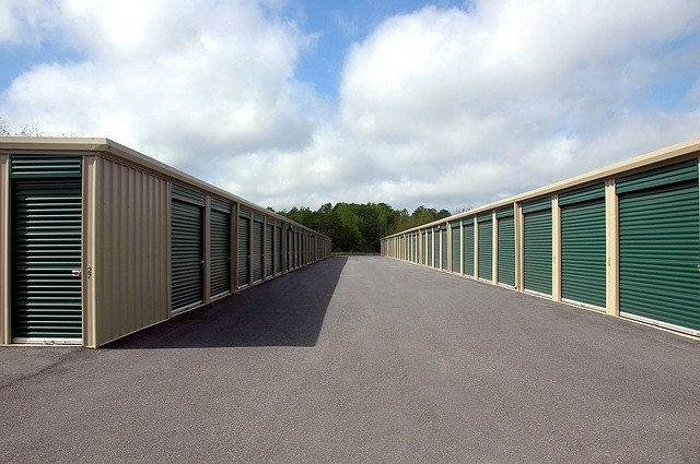 Renting a storage unit is a viable option.