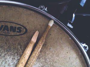 Drumset.